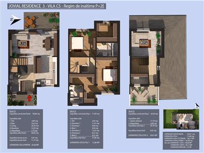 Duplex P+2, Valea Oltului, 5 camere, Prelungirea Ghencea, 2022, Jovial Residence 3