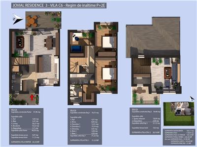 Promotie Duplex P+2, Valea Oltului, 5 camere, Prelungirea Ghencea, 2022, Jovial Residence 3
